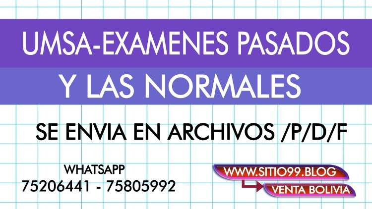 Umsa-examenes pasados y las normales629134416
