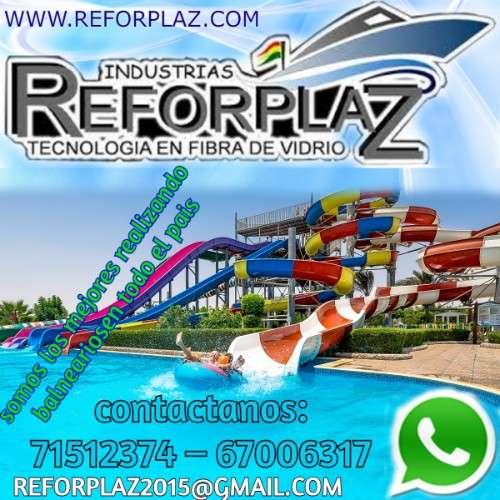 Ofrecemos balneários, parques acuaticos echo con fibra de vidrio y polietinelo988767357