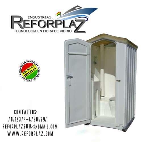 Expertos en la fabricacion de baños portatiles en fibra de vidrio986873931