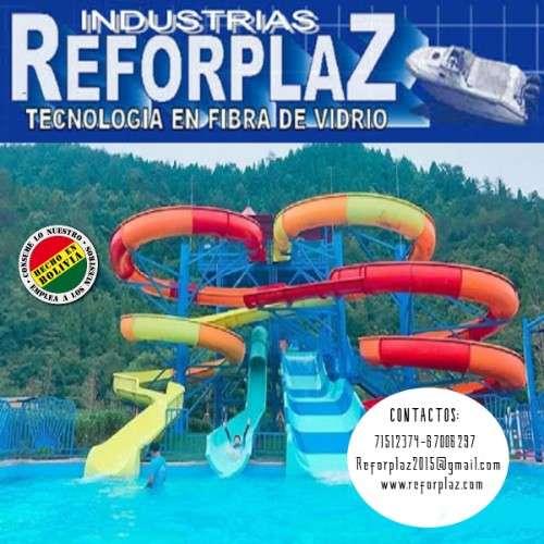 Expertos en la fabricacion de toboganes para parques acuaticos en fibra de vidrio1018944078