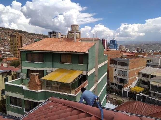 Refacción de techos !!!! solucion a goteras, filtraciones,etc.. 701157852086976761