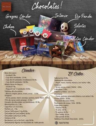Chocolatería dulces tentaciónes596904404