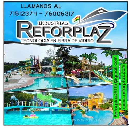 Balnearios acuáticos en bolivia - industria reforplaz srl1783524311