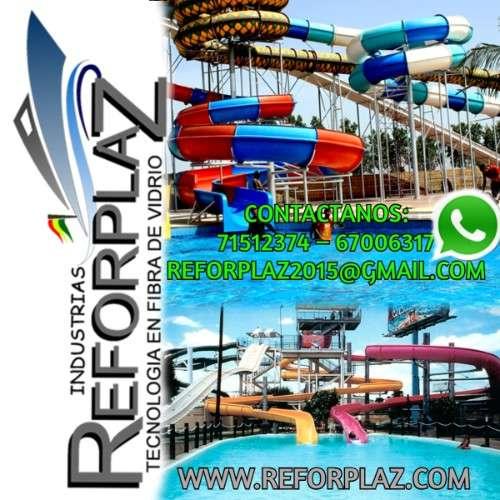 Fabricantes de toboganes acuaticos, resbalines, piscinas, figuras de playa y cascadas.1829770681