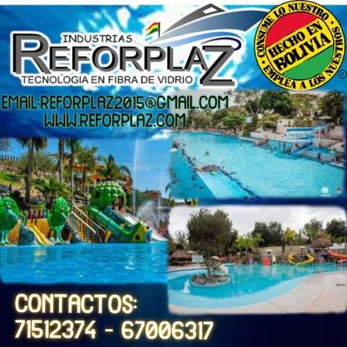 Exclusivos modelos de balniarios acuaticos, toboganes y parques infantiles2024047426