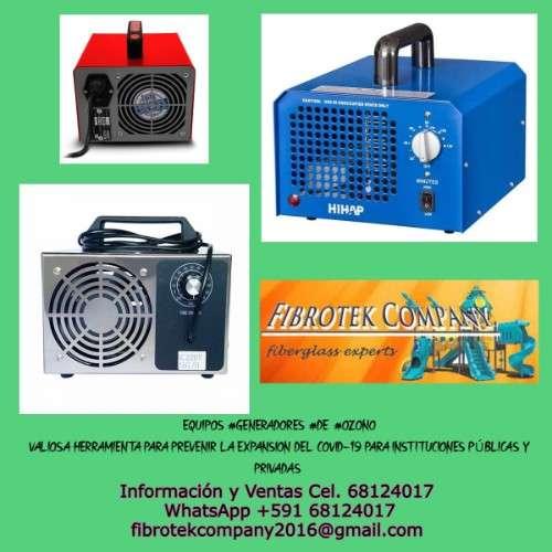Generadores  de ozono. efectivos pra desinfeccion contra el covid-19337914607