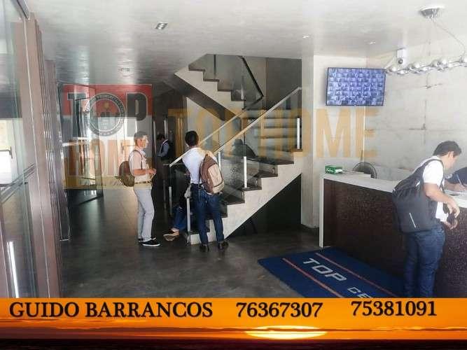 Amplia y hermosa oficina en alquiler zona beni 2do anillo1543311806