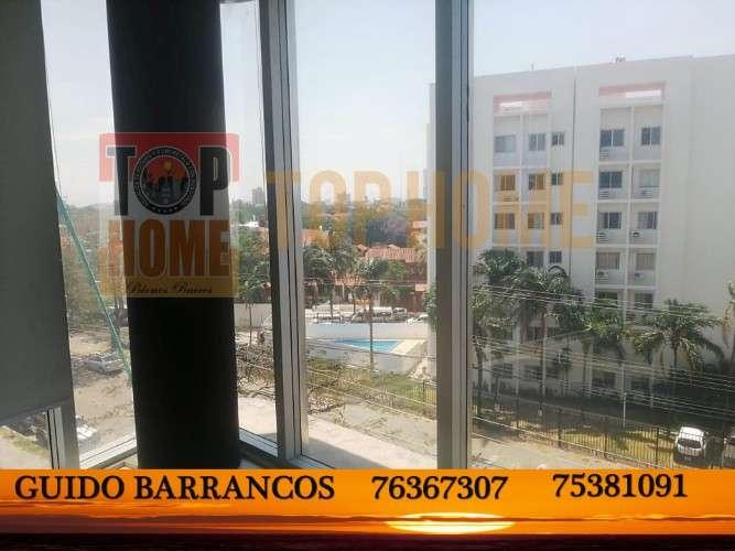 Amplia y hermosa oficina en alquiler zona beni 2do anillo1068147391
