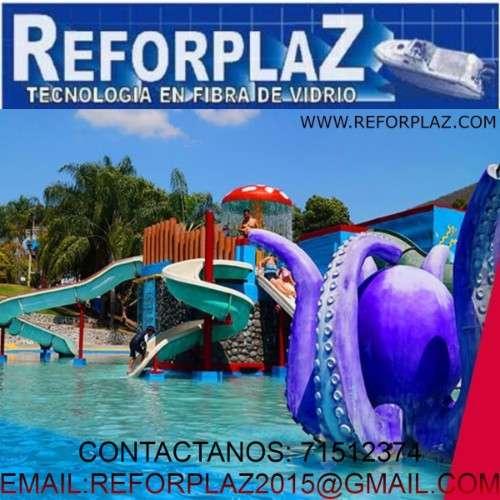 Realizamos balnearios, botes etc. todo en fibra de vidrio2076867178
