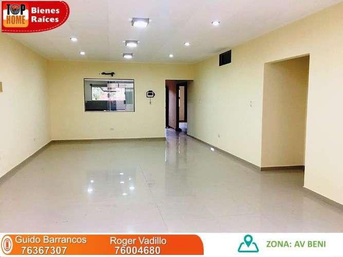 Nueva y hermosa casa en alquiler 8vo anillo av beni427027037