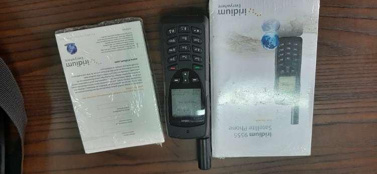 Teléfono satelital iridoum 9555108675968