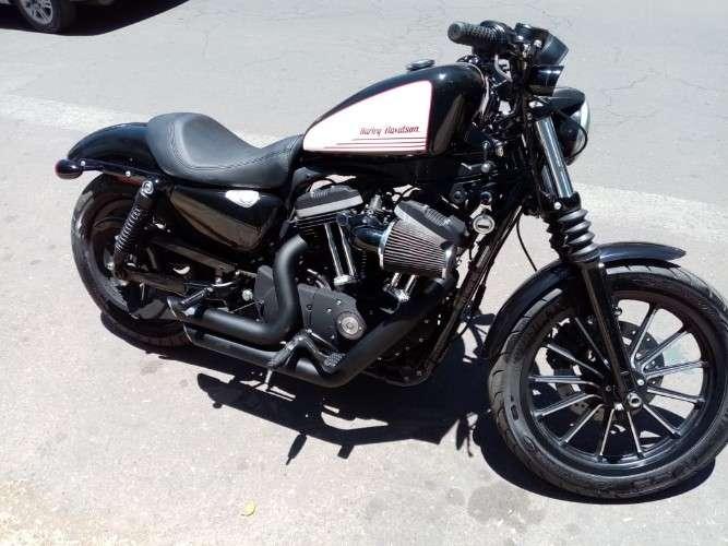 En venta hermosa harley davidson xl 883  iron mod. 20101442493245