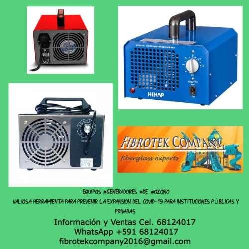 Generadores de ozono contra covid-19957112016