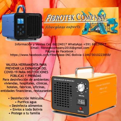 Constructores de generadores de ozono para desinfeccion de ambientes 278831796