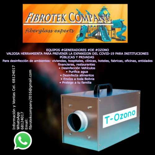 Contructores de generadores de ozono par toda bolivia1752318863