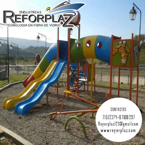 Fabricacion de toboganes para parques infantiles 694490860