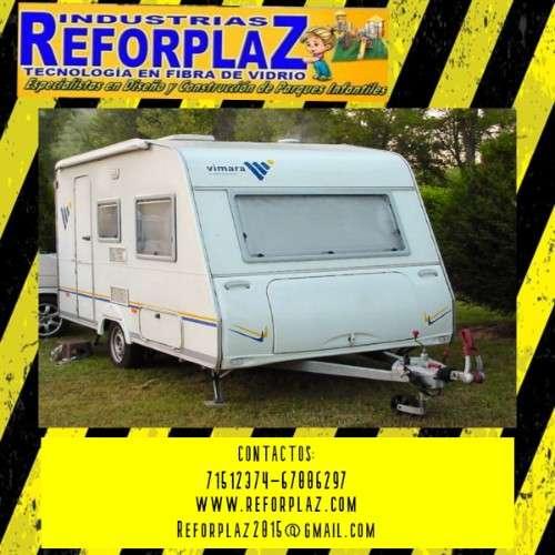 Fabricamos carrocerías de vehículos recreativos maxi y mini motor home - campers independiente, etc778571179
