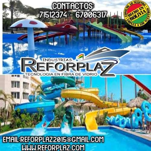 Mega balnearios acuaticos toboganes, parques infantiles, piscinas y embarcaciones479883639