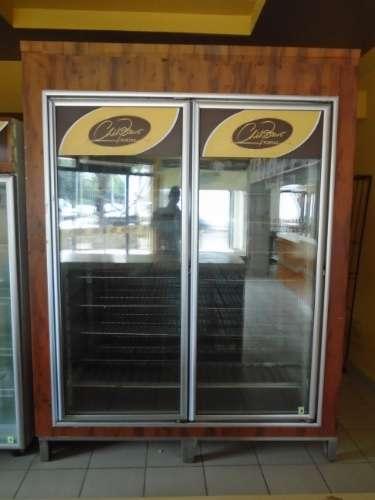 Expositora frigorifica, doble puerta 2 x 1,7 x 2,2 (min -17 grados)1856103860