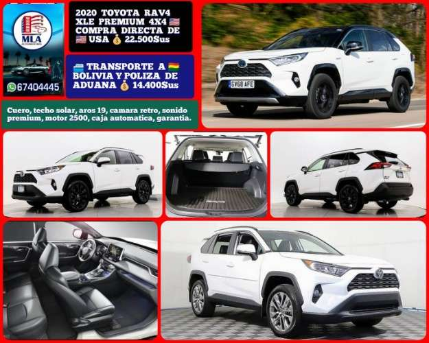 Toyota rav4 xle premium 4x4167304375