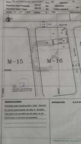 Vendo 2 lotes en urbanizacion integracion del norte fase 2 736124504