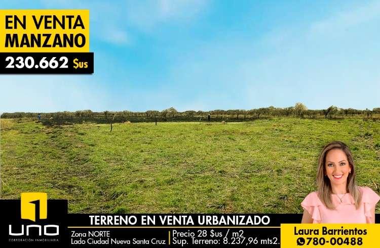 Atencion inversionistas!!!en venta manzano completo, urbanizado, en urbanizacion la union2105630291