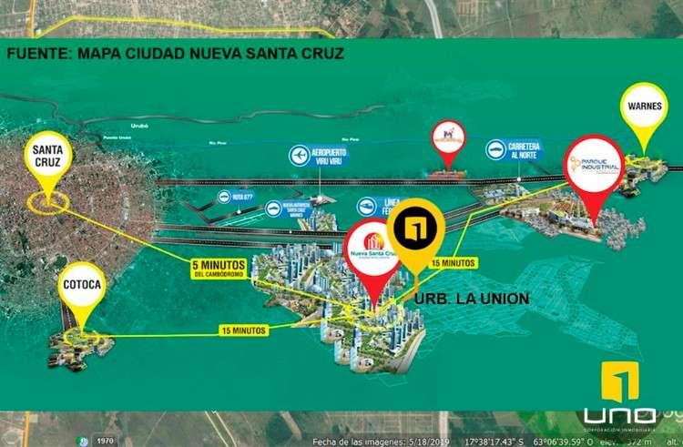 Atencion inversionistas!!!en venta manzano completo, urbanizado, en urbanizacion la union416715302