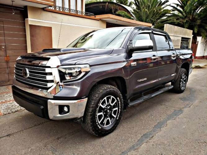 Espectacular e impecable camioneta toyota tundra crew max mod. 2019 ( tacoma, 4runner, rogue, rav4125650118