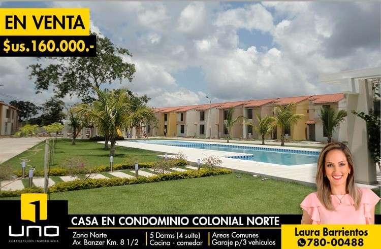 Casa En Condominio Cerrado Colonial Nort