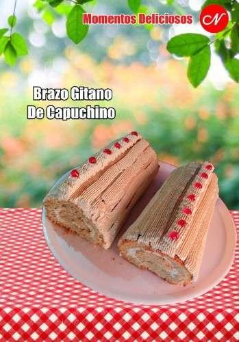 Brazo Gitano De Capuchino - Pasteleria Y
