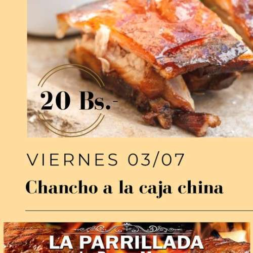 Costilla De Chancho A La Caja China