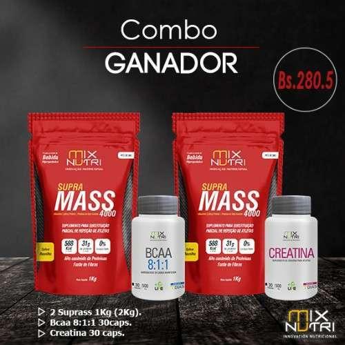 Pack Ganador De Peso Y Masa Muscular