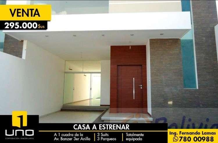 Casas A Estrenar, Av. Banzer 3ro Anillo