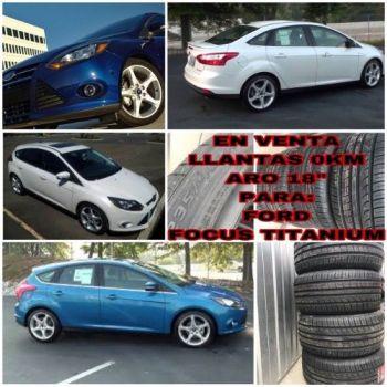 Venta Llantas 235/40r18 Nuevas --ford Fo