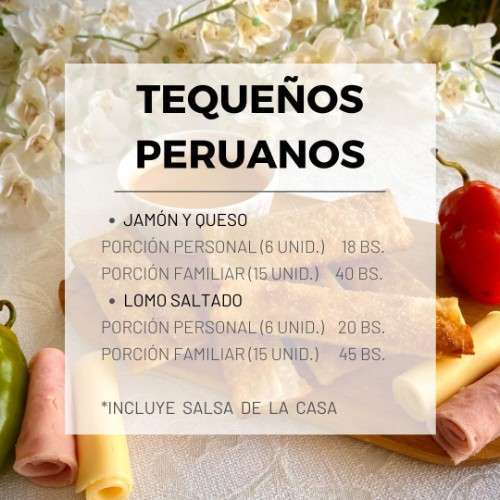 Tequeños Peruanos