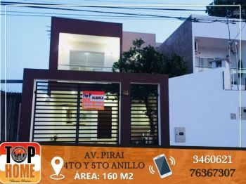Linda Casa En Alquiler Zona Pirai 4to Y