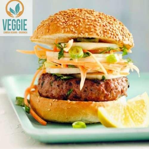 Hamburguesa Vegana Congelada De Avena Co