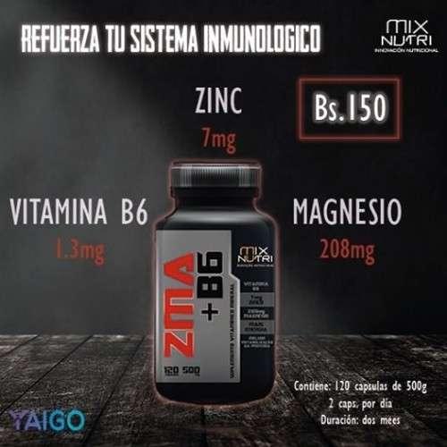 Zinc, Magnesio + B6