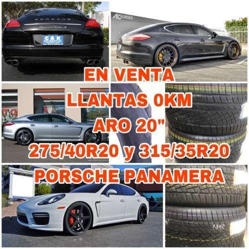 Venta Llantas Para Porsche Panamera---ar