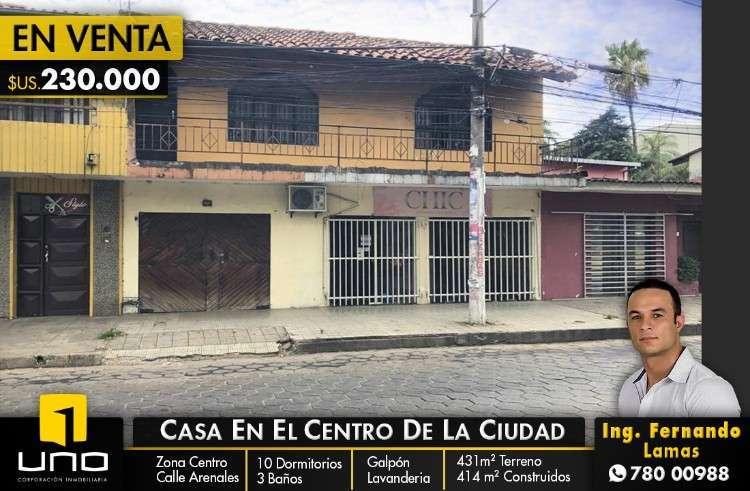 Casa En Venta, Zona Centro, Calle Arenal