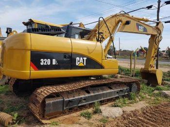 Excavadora Caterpillar 323dl Y 320dl Eur