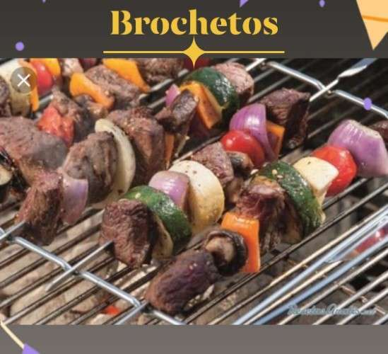 Deliciosos Brochetos