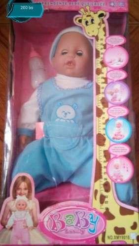 Muñeca Que Crece, Llora Y Habla.