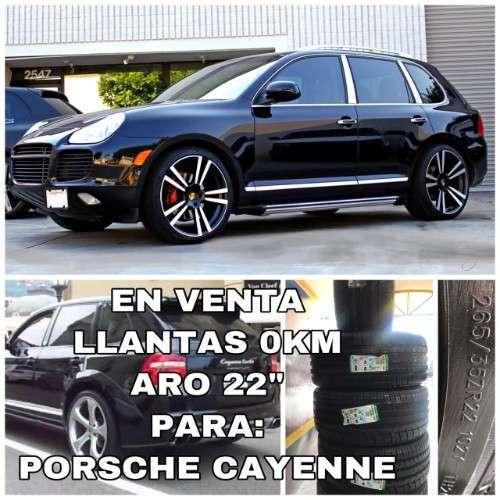 Venta Llantas Aro 22-porsche Cayenne-265