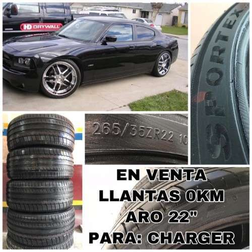 Llantas Aro 22-venta-para Charger Dodge-