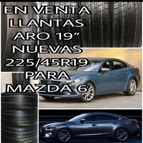 Venta Llantas Para Mazda 6-aro 19--225/4