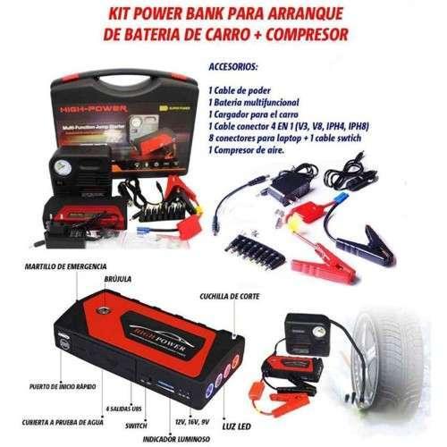 Jumper Reactivador De Bateria Y Compreso