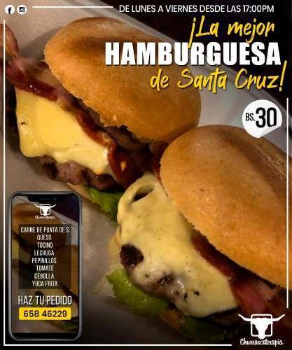 Pedí Tu Súper Hamburguesa Desde Las 5