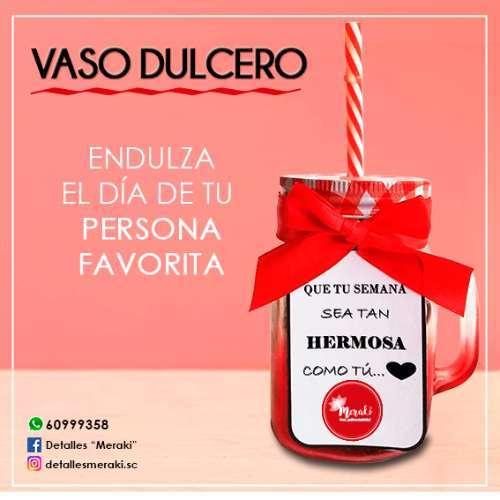 Vaso Dulcero
