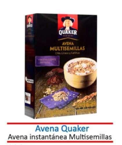 Avena Quaker Multisemillas